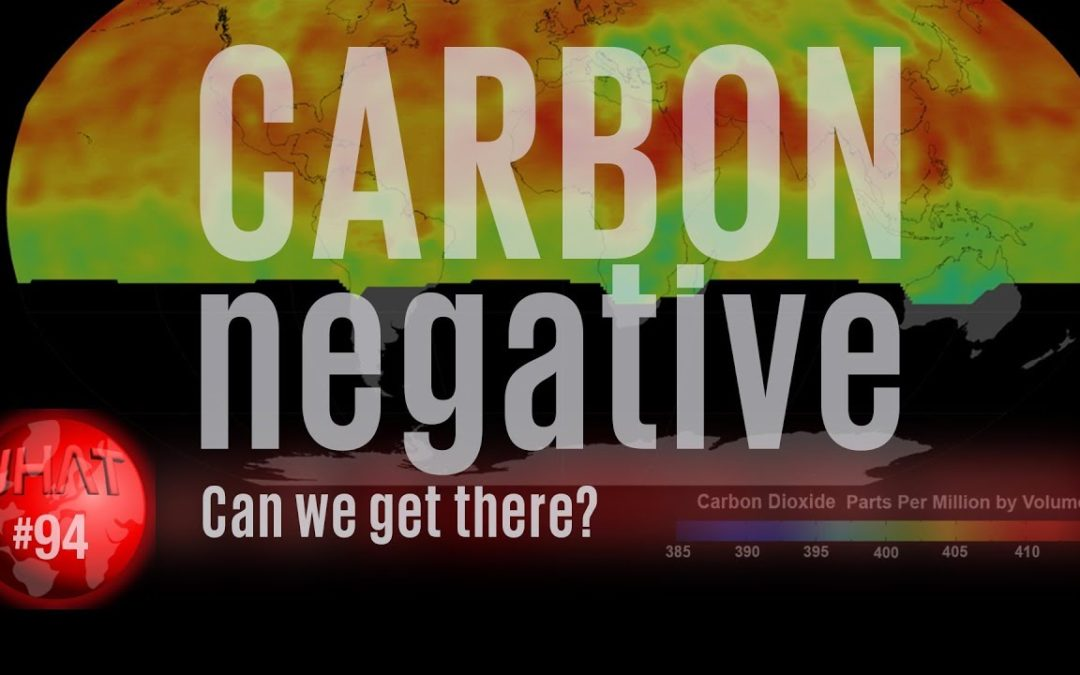 Carbon Negative : Can we get there?