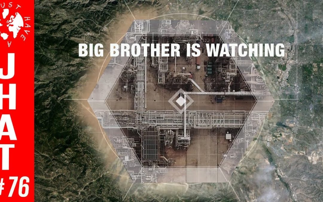 Chasing Methane : Big Brother is watching!
