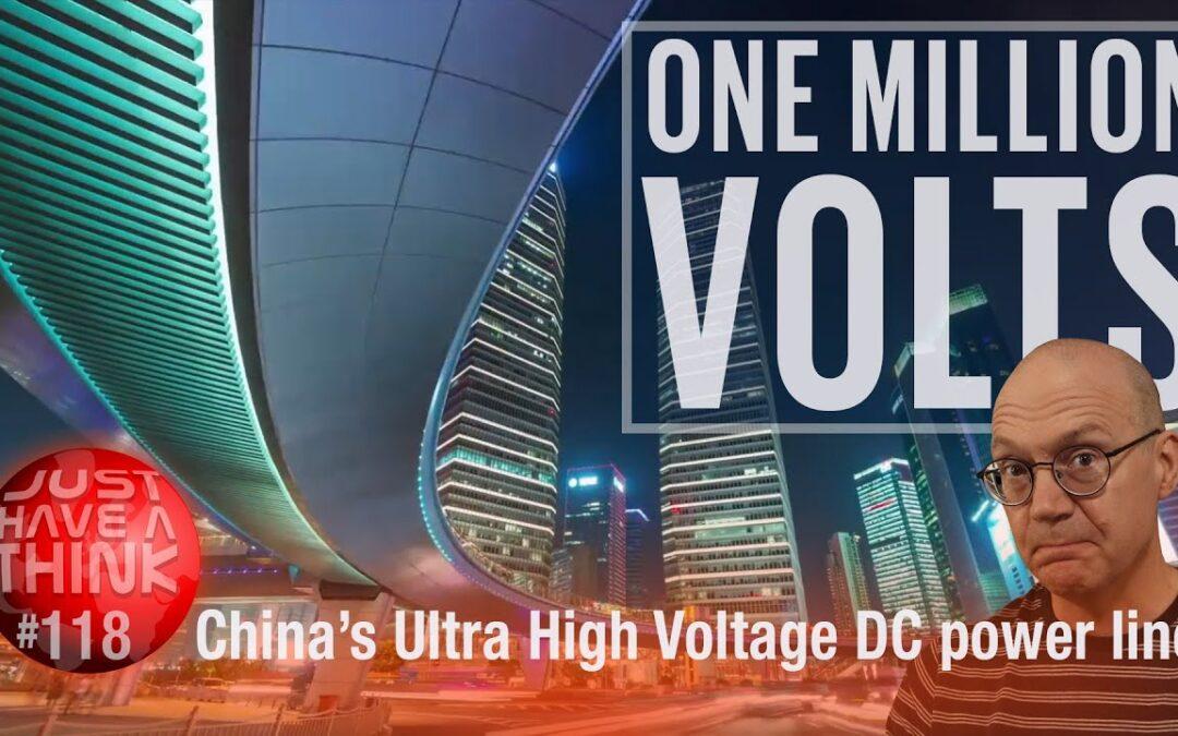 China's MILLION VOLT Energy Superhighway