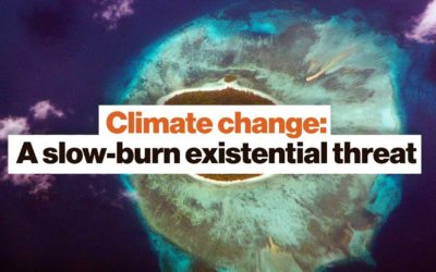 Climate change: A slow-burn existential threat