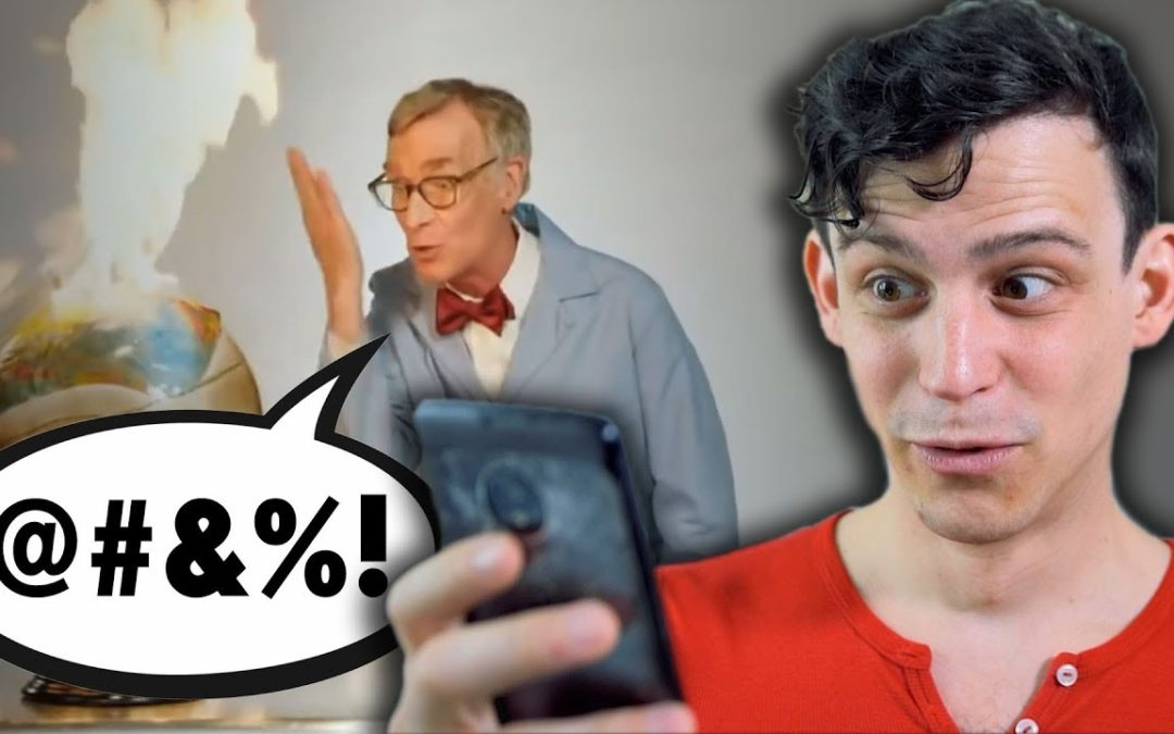 "Climate scientist reacts to Bill Nye: ""The planet's on f@*&ing fire!"""
