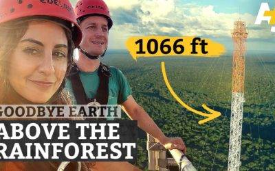 Climbing South America's Tallest Tower For Climate Science