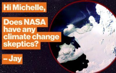 Does NASA have any climate change skeptics?