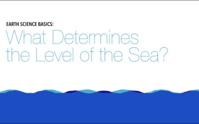 Earth Science Basics: What Determines the Level of the Sea?