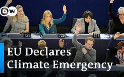 European Parliament declares climate emergency