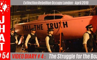 Extinction Rebellion Occupy London : VIDEO DIARY 4 of 4