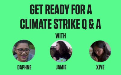 Get Ready for a Climate Strike Q & A