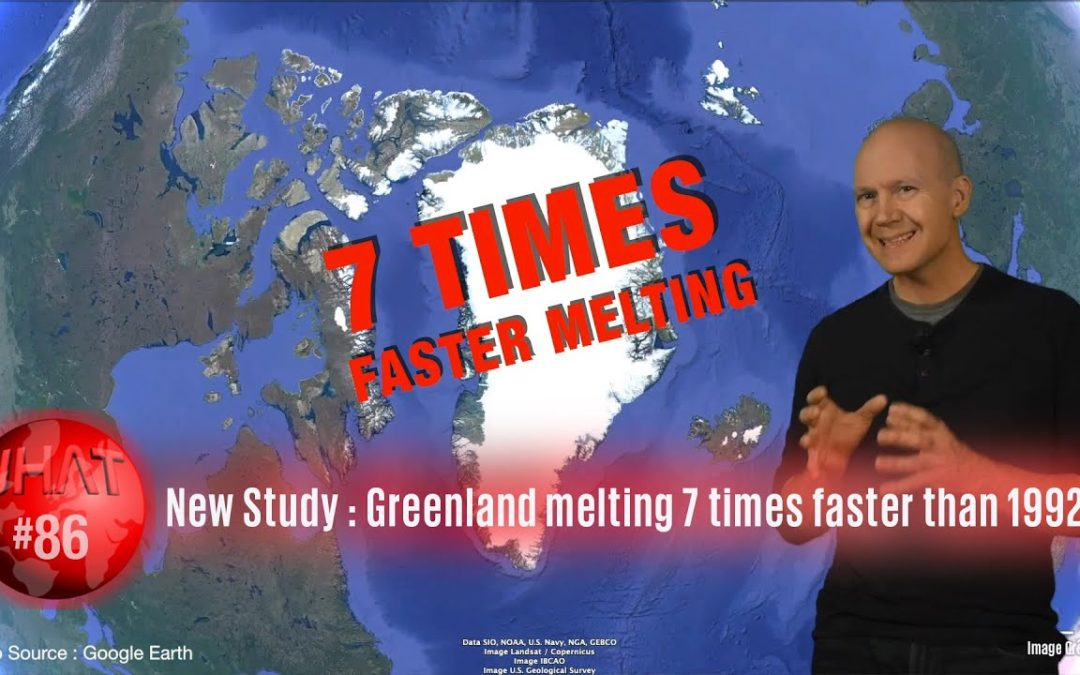 Greenland is melting seven times faster than 30 years ago