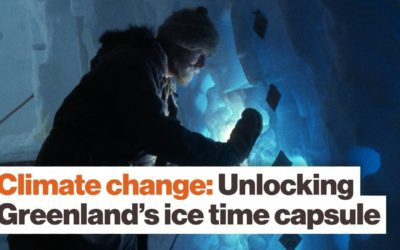 Greenland's ice: A trip back in time to see the future of climate change