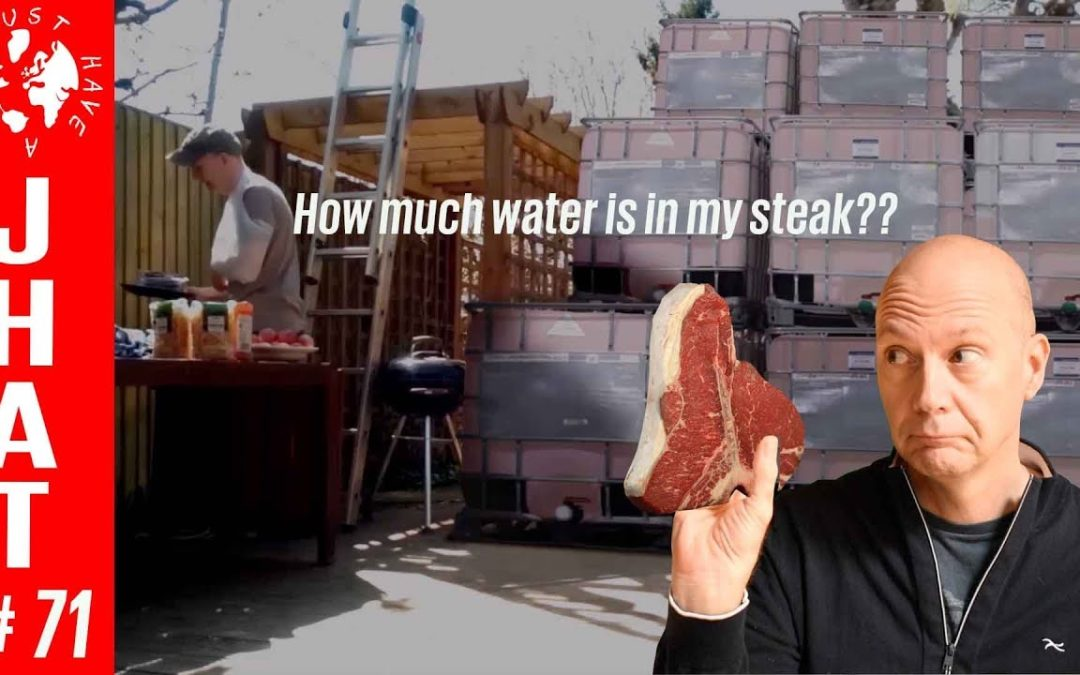 How much water is in my steak?!?