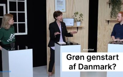 Hvordan får vi en grøn genstart af Danmark?