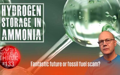 Hydrogen energy storage in AMMONIA: Fantastic future or fossil fuel scam?
