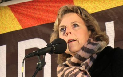 Klimamarch COP21 – Connie Hedegaard