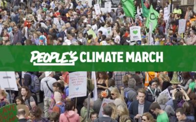 PEOPLE'S CLIMATE MARCH LONDON 2015