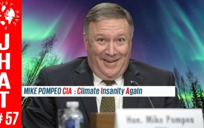 Pompeo's CIA (Climate Insanity Again!)