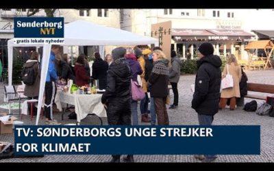 Sønderborgs unge strejker for klimaet
