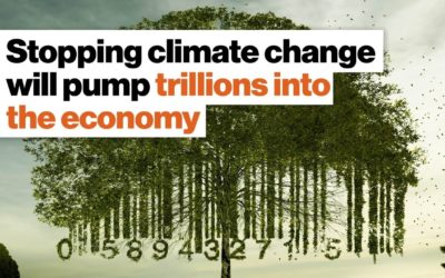 Stopping climate change will pump trillions into the economy