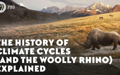The History of Climate Cycles (and the Woolly Rhino)