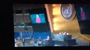 Thornings klimatale ved FN klimatopmøde i New York