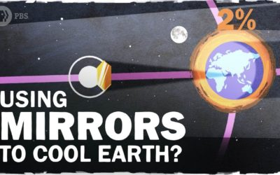 Using Space Mirrors to Cool the Globe
