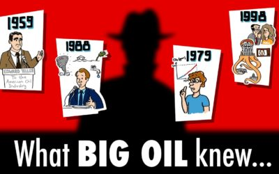 What BIG OIL knew about climate change since the 1950s…